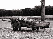 Jüdisches Gold und Leben gegen volle Mägen für die Deutschen.  Komzentrationslager Buchenwald.  (Bild: WolfTek)