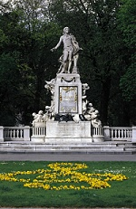 Mozartdenkmal Wien