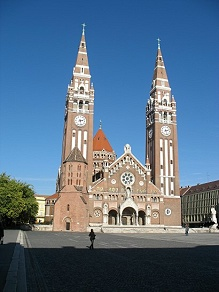 Der Dom in Szeged