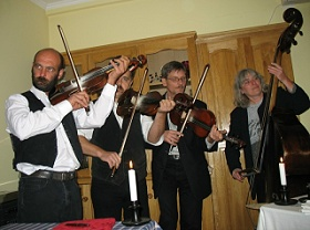 Die musizierenden Zigeuner