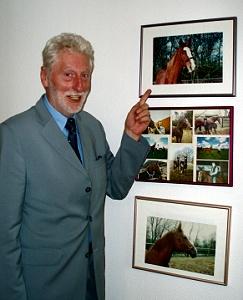 Bernt Strenge mit Pferden