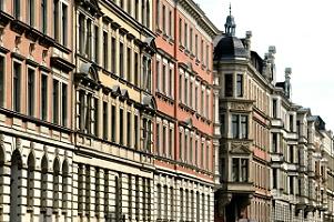 Gründerzeithäuser im Waldstraßenviertel