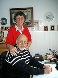 Glücklich durch Chorgesang: Peter und Renate Oelkers