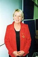 Elke Fiebiger mit Bundesverdienstkreuz