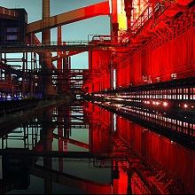 Essen_Kokerei_Zollverein_Illumination