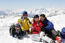 Familie - Moelltaler Gletscher