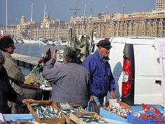Fischer im Vieux Port