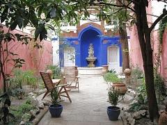 """Garten des Hotels """"Le Ryad"""""""