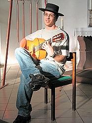Dávid Kova überzeugte auf der Gitarre