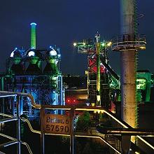 Lapa Duisburg bei Nacht