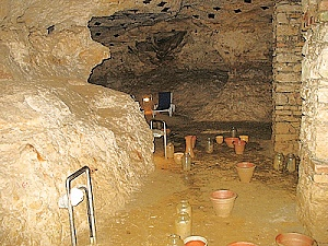 Heilgrotte in Tapolca unter dem Hungest Hotel Pelion