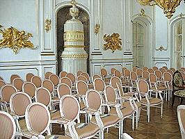 Konzertsaal im Schloss Festetics in Keszthely