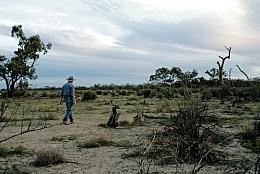 Australischer Himmel- bei Tag und bei Nacht.