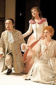 Das Figaro-Ensemble auf der Bergedorfer Bühne