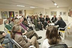 Aufmerksame Zuhörer und angeregte Diskussion